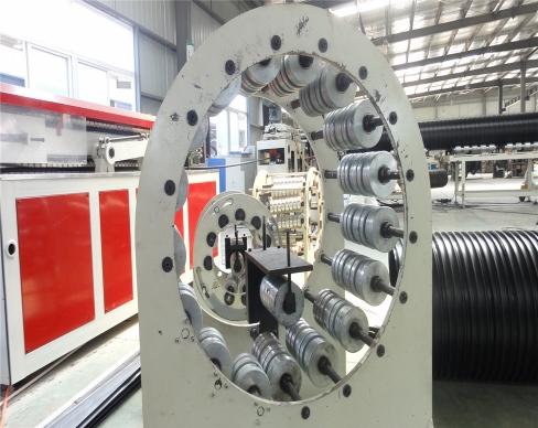 青岛塑钢缠绕管生产线