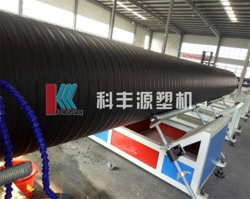 克拉管设备厂家带您了解克拉管与pe波纹管的区别