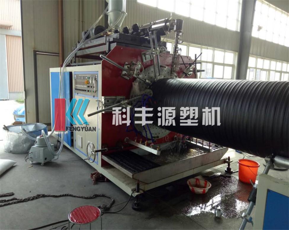 塑钢中空壁管生产线