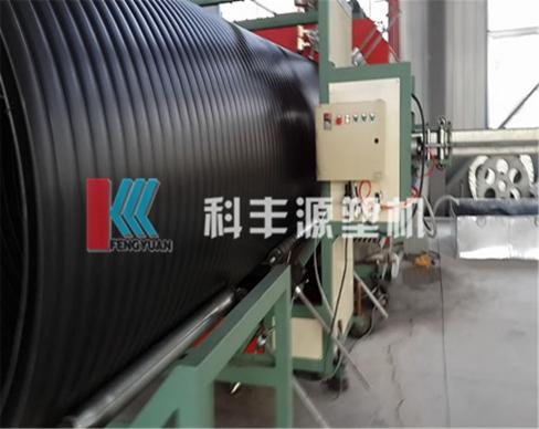 保定中空壁缠绕管生产线