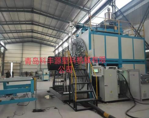 淄博中空壁缠绕管生产线